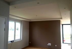 Plafond décoratif – ampoules led intégrées